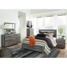 Cazenfeld - Queen Panel Bed, Dresser, Mirror, 1 X Nightstand