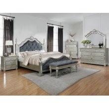 Sterling Kg Bed, Dresser, Mirror, Chest and Nightstand