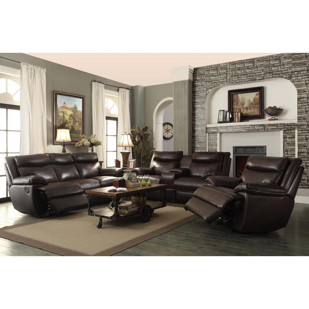 See Details - MacPherson Motion Sofa and Love Seat