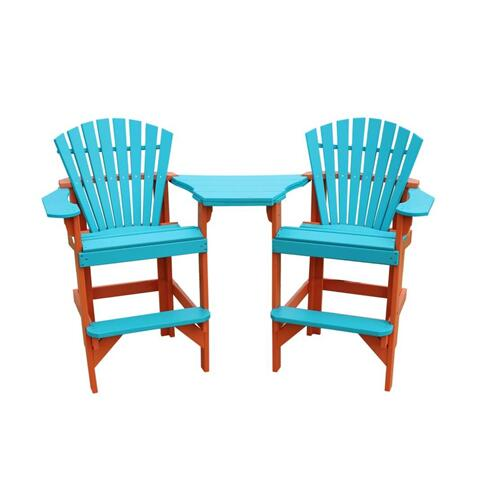 Pub Chair Set with Tata Tae
