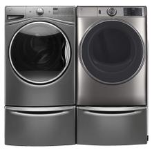See Details - 4.5 cu. ft. Front Load Washer & 7.8 cu. ft. Smart Electric Dryer- Open Box