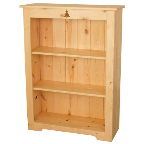 BW576  4' Bookcase with Tree Cutout