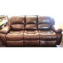 Leather Power Sofa