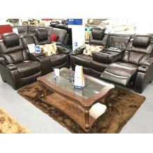 Signature Design By Ashley A7540715 Warnerton - Chocolate Collection 2PCS Power Reclining Living Room Set