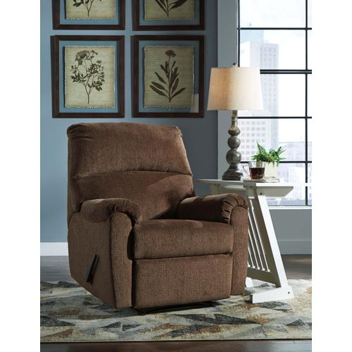 Nerviano Wall Recliner - Chocolate