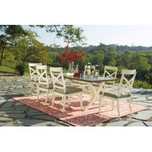 See Details - ASHLEY PRESTON BAY OUTDOOR DINING COLLECTION WITH UMBRELLA