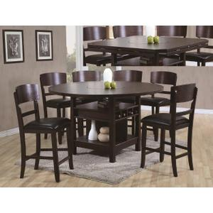 Packages - Crown Mark 2849 Conner Counter Height Dining Group