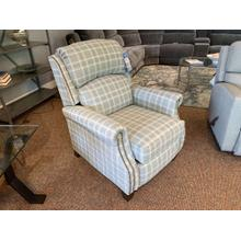 High Leg Power Recliner with Nailhead Trim