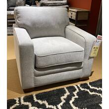 Meyer Stationary Chair in Platinum         (230-694-C151651,28026)