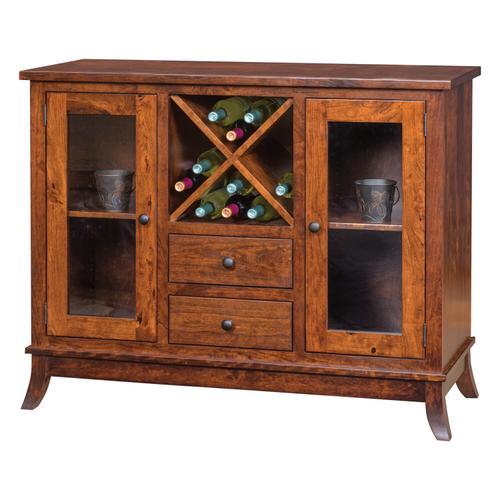 Amish Craftsman - Wine Cabinet