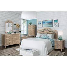 Sea Winds Trading Santa Cruz Headboard - Frappe Finish