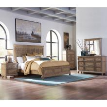 725-BR  Queen or King with Decorative Panel Headboard