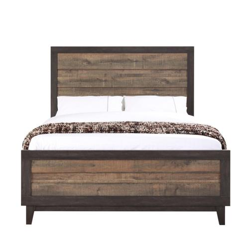 Crown Mark - 7 Piece Tacoma 2 Tone Bedroom Group - Twin Size