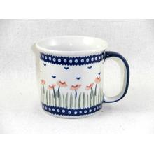 Red Poppies Straight Mug
