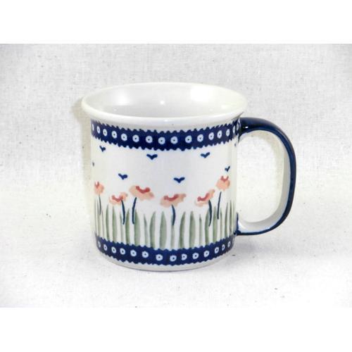 Red Poppies Straight Mug