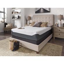See Details - Sierra Sleep by Ashley Manhattan Design District Plush Pillowtop Mattress  Queen