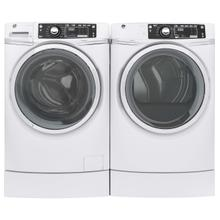 GE Front Load Laundry Package With Electric Dryer In White