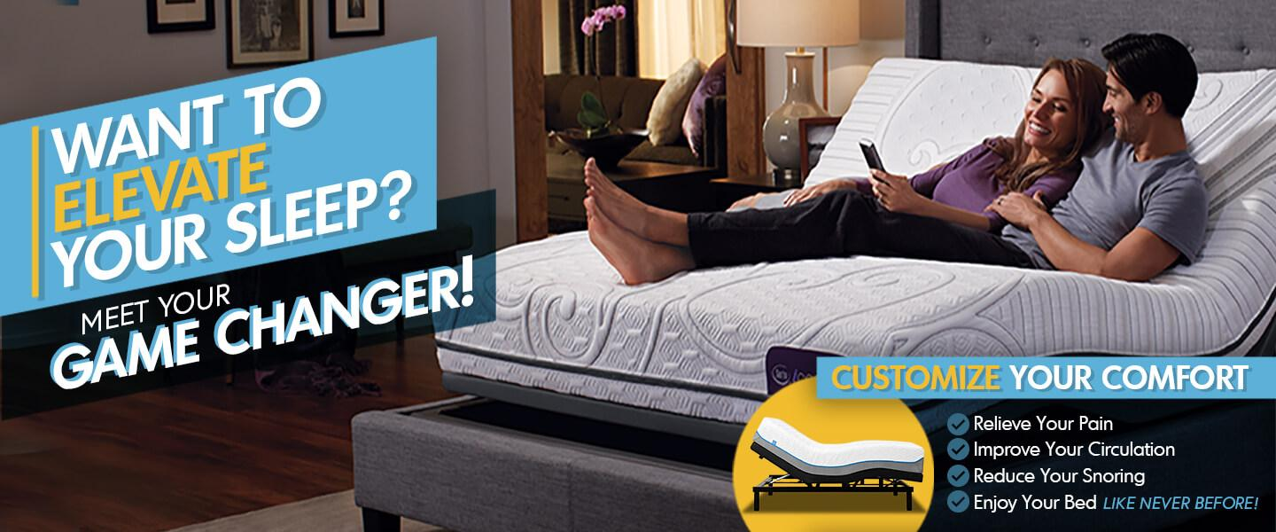 Elevate Your Sleep, Customize Your Comfort