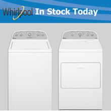 Whirlpool Top Load Washer and Dryer Pair