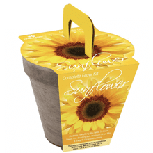 TOTAL GREEN Dwarf Sunflower Grow Kit