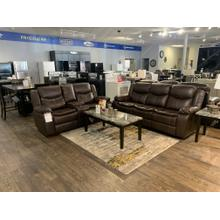 Generation Trade Emerson Brown Reclining Sofa and Loveseat