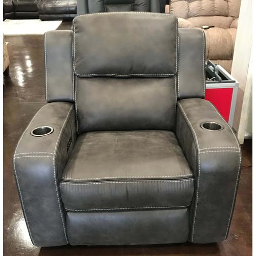 Charcoal Grey PHR Recliner