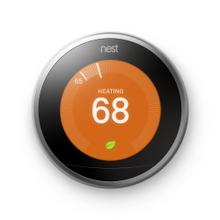 See Details - GOOGLE NEST LEARNING THERMOSTAT