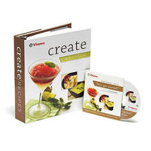 Vitamix Create Recipe Book with Chef Michael Symon Instructional DVD