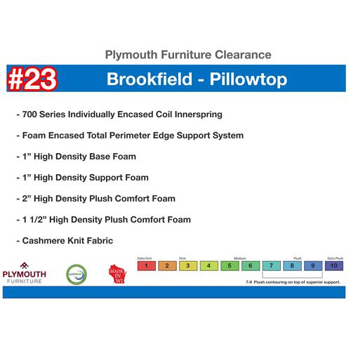 Brookfield Pillowtop Mattress