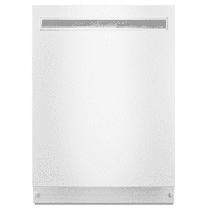 Kitchenaid 46dBA White Top Control with Stainless Steel Tub Product Image
