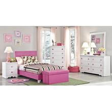 See Details - 6 Peice Twin Bedroom Set