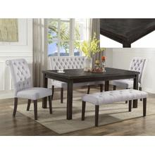 Crown Mark 2022 Palmer White Dining Group