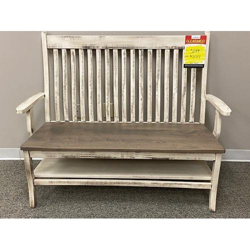 """66"""" Wide Arm Bench"""