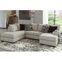 Ashley Raf Sofa Chaise & Laf Corner Chaise Living Room Set