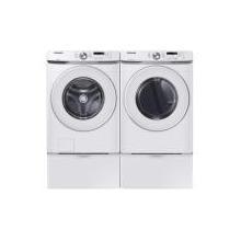 Samsung 4.5 Cu. Ft. Front Load Washer & Gas Dryer