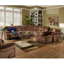 See Details - Laf Reclining Loveseat W/ Console