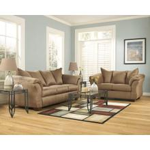 Darcy- Mocha Sofa and Loveseat