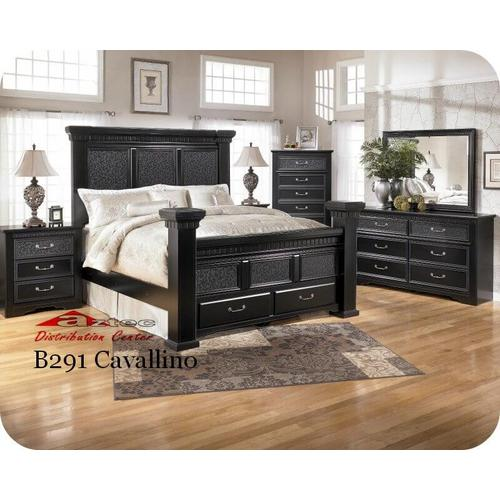 Ashley Furniture - Ashley B291 Cavallino Bedroom set Houston Texas USA Aztec Furniture
