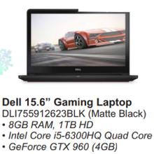 Dell 15.6 Gaming Laptop