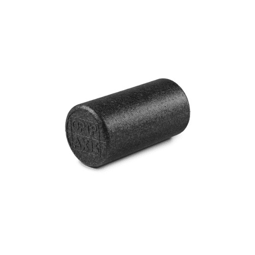 "Black AXIS Firm Foam Roller - Round 12""x6"""
