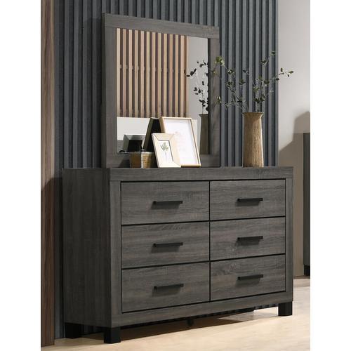Lifestyle - Full Bedroom - Landon - Full Bed, Dresser, Mirror