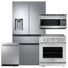 See Details - DACOR Professional Stainless Steel 4 Piece Suite