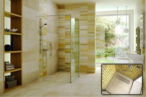 TriForm Linear Drain Shower System Product Image