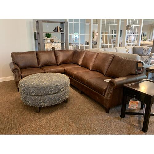 Mayo Furniture - Vacchetta Cocoa Sectional