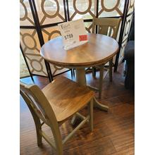 See Details - CLEARANCE Pub Table & Chairs