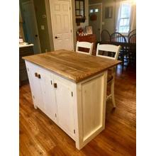 Locally Made Kitchen Island