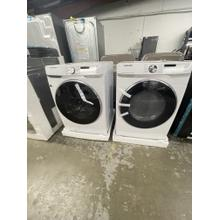 See Details - **ANKENY LOCATION** 4.5 cu. ft. Smart Front Load Washer with Super Speed in White WASHER HAS SMALL DENT ON FRONT