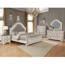 Mill Creek Qn Bed, Dresser, Mirror, Chest and Nightstand