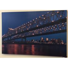 "40"" x 60"" City Scape Canvas"
