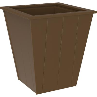 "Elite Planter 26"" Chestnut Brown"